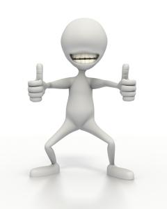happy stickman