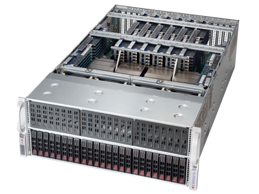 96 DIMM 4U 4-Way SuperServer®
