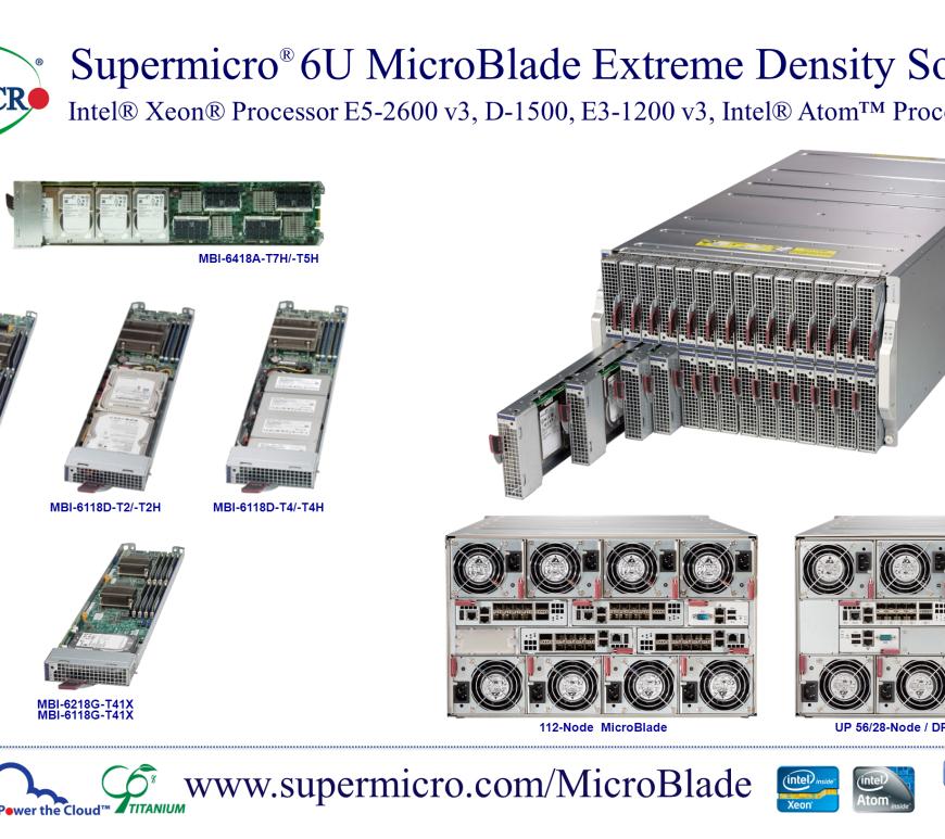 Supermicro 6U MicroBlade